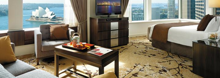 Beispiel Premier-Zimmer Sydney Harbour Shangri-La Hotel Sydney