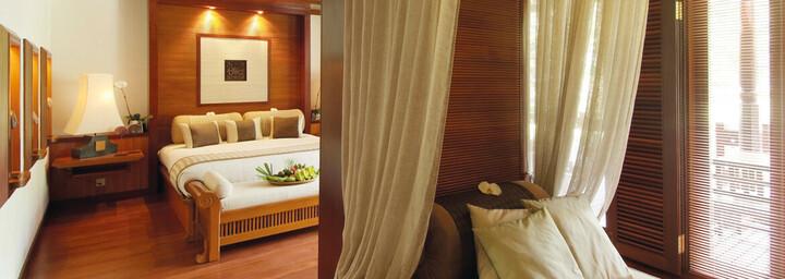 Zimmerbeispiel des Tanjong Jara Resort Terengganu