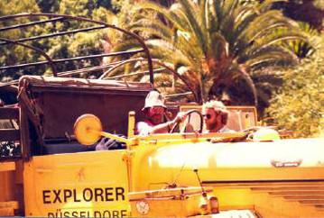 Allrad LKW auf einer Explorer Expedition