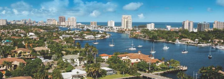 Fort Lauderdale von oben