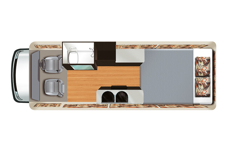 Floorplan bei Nacht - Apollo Euro Tourer