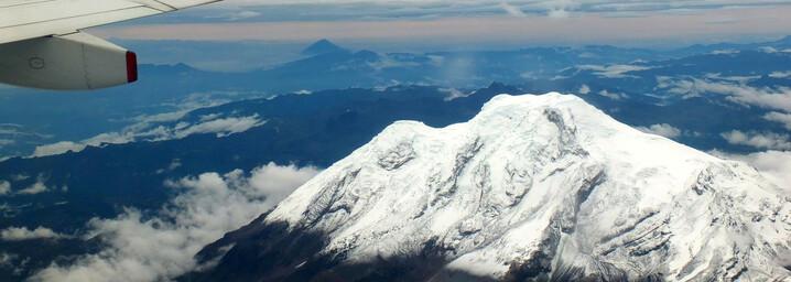 Ecuador und Galápagos Reisebericht - Schneebedeckte Vulkane