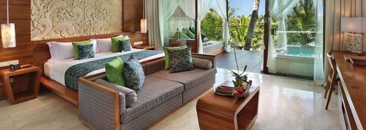 Zimmerbeispiel des Candi Beach Resort & Spa