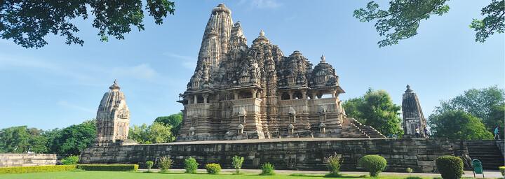 Tempelstadt in Khajuraho
