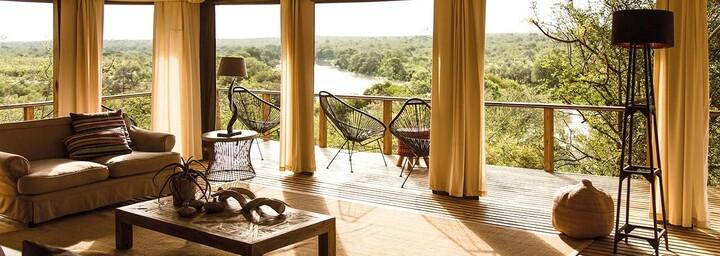 Lounge der Hilltop Lodge