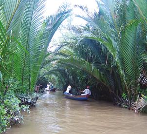 Reisebericht Vietnam - Mekong Delta Flussfahrt