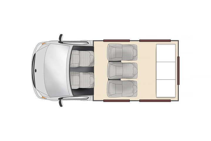 Floorplan bei Tag -  Apollo Vivid Camper