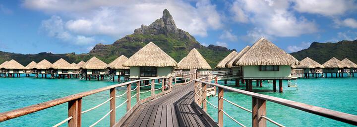 Außenansicht des Le Méridien Bora Bora