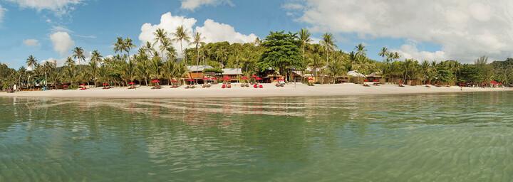 Außenansicht des Anantara Rasananda Koh Phangan Villas