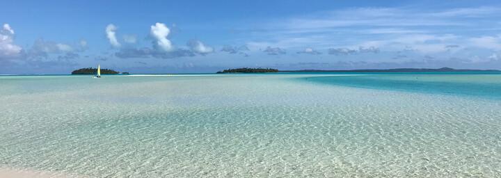 Cook Inseln Reisebericht - Lagoon Cruise auf Aitutaki