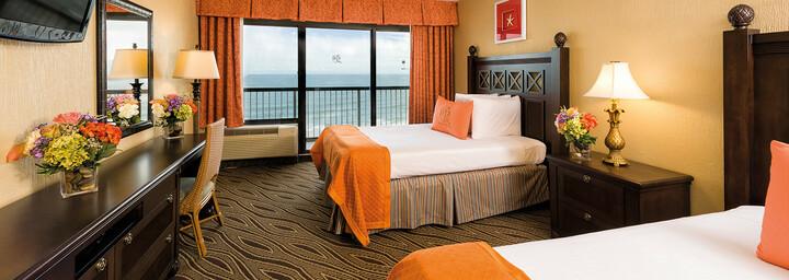 Zimmerbeispiel des Westgate Myrtle Beach Oceanfront Resort