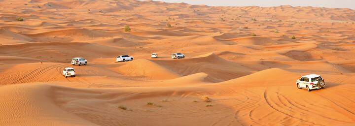 Wüste in Dubai