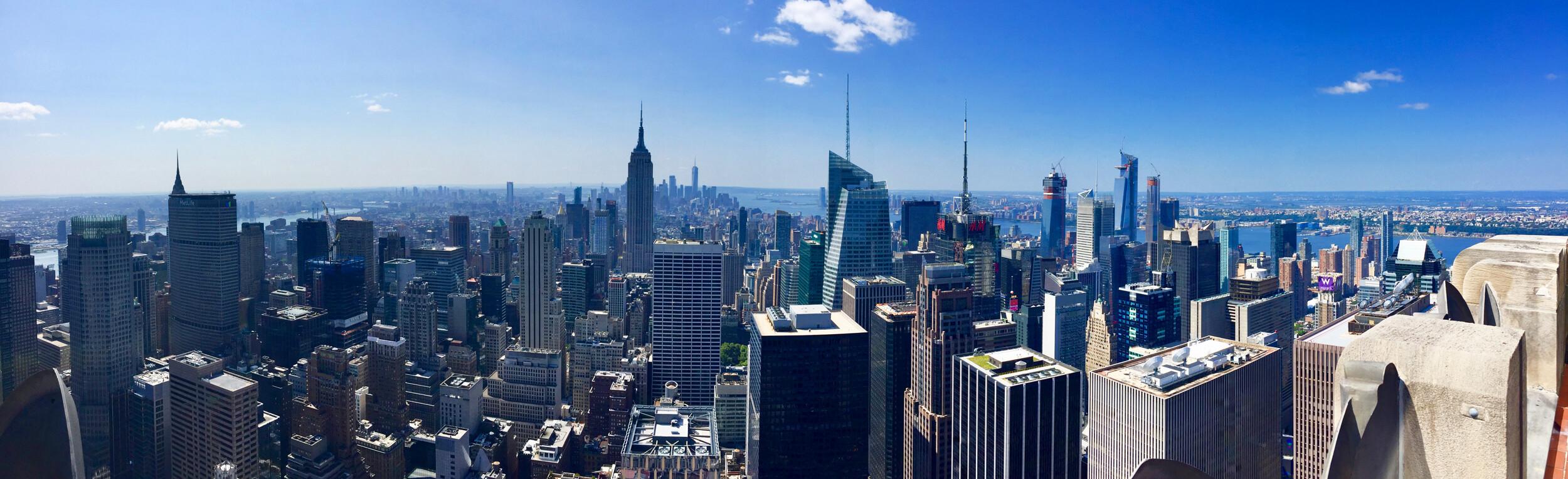 Reisebericht New York City - Top of the Rock