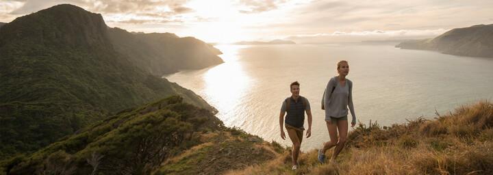 Wanderer See Neuseeland
