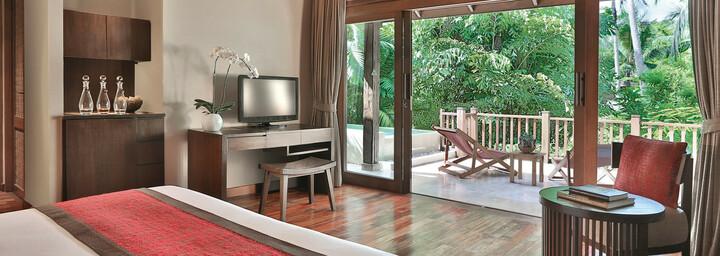 Pool-Suite des Anantara Rasananda Koh Phangan Villas
