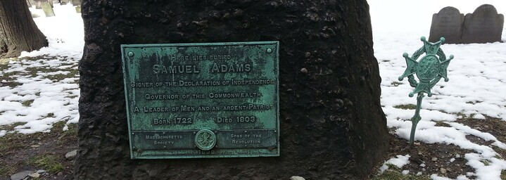 Granary Burying - Samuel Adams