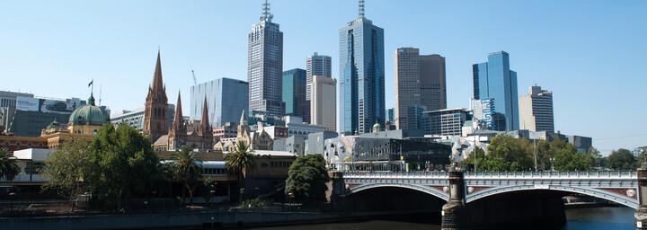 Australien Victoria Melbourne
