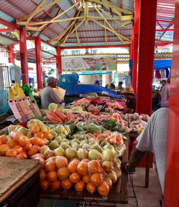 Markt in Victoria auf Mahé