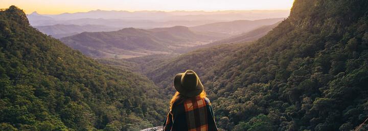 Lamington Nationalpark Aussichtspunkt