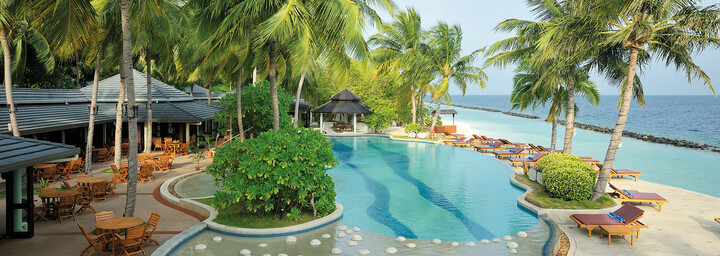 Royal Island Resort & Spa Poolanlage
