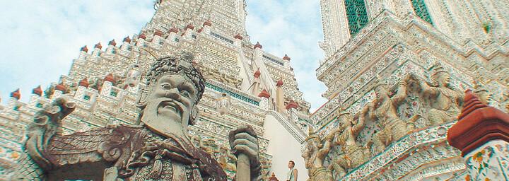 Detailansicht Wat Arun Bangkok