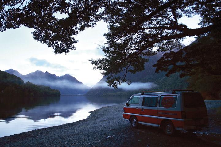 Außenenansicht des Hippie Drift