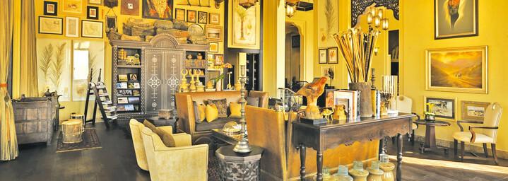 Bibliothek Qasr Al Sarab Desert Resort by Anantara Liwa-Wüste