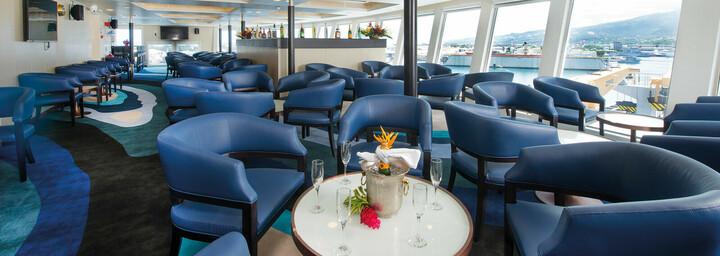 Sky Bar des Kreuzfahrtschiff 'Aranui 5'