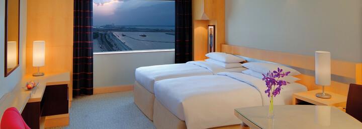 Zimmerbeispiel des Hyatt Regency Dubai