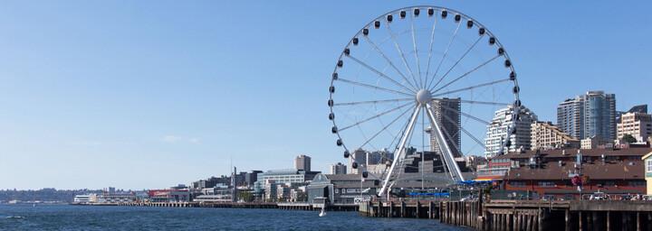 Riesenrad am Pier Seattle