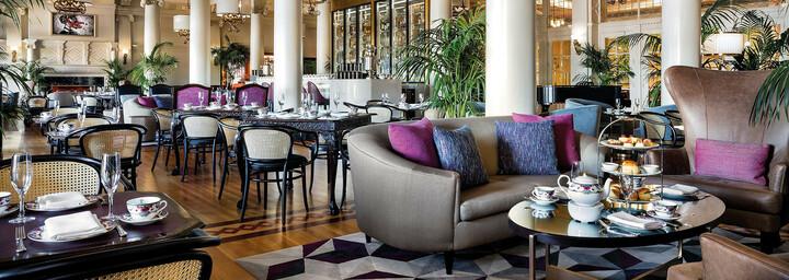 Lounge des Fairmont Empress