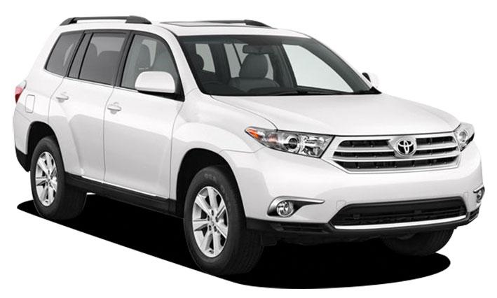 Toyota Highlander Kategorie N - 4WD