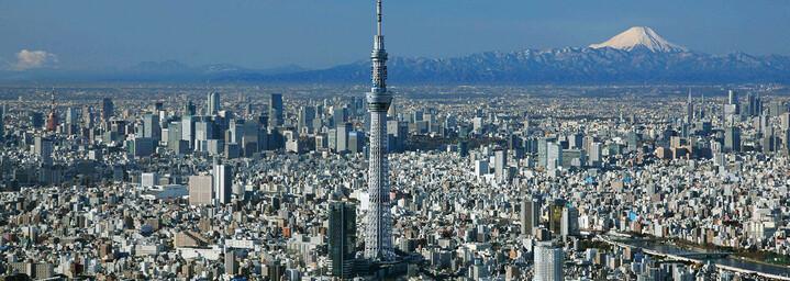 Tokio - Fuji Vulkan