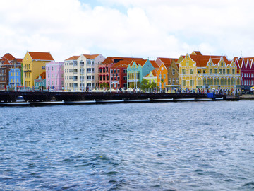 Bunte Häuser in Willemstad
