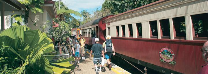 Scenic Railway nach Kuranda