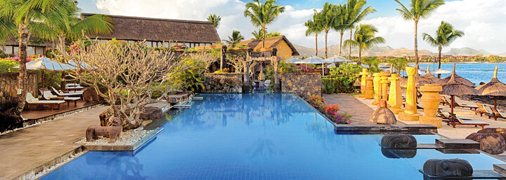 Pool des The Oberoi Beach Resort, Mauritius