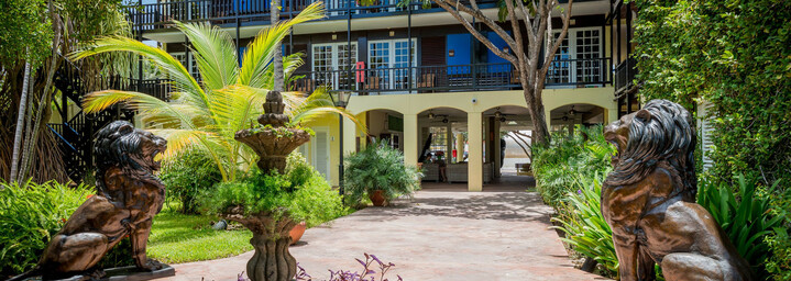 LionsDive Beach Resort Lobby