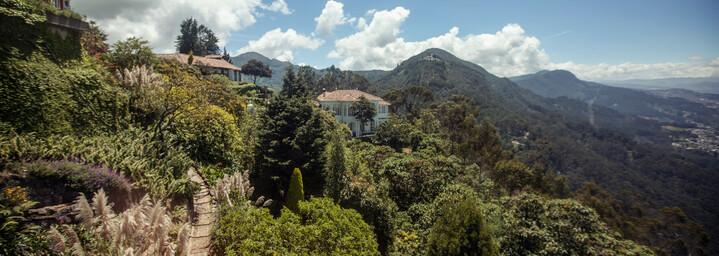 Monserrate-Mountain Bogotá Kolumbein