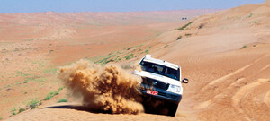 Wahiba Sands Jeep