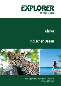 Explore Fernreisen Afrika Indischer Ozean Katalog Cover