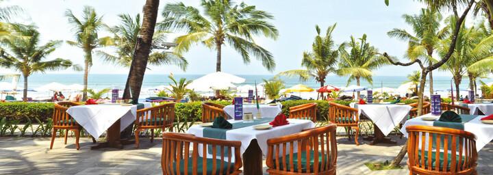 Restaurant des Legian Beach Hotel