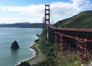 Kalifornien Reisebericht - Golden Gate Bridge in San Francisco