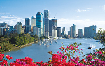 Reisebericht Australien: Brisbane Skyline