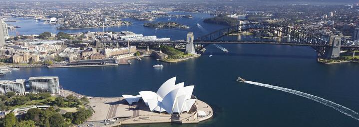 Sydney von oben New South Wales