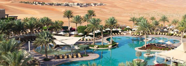 Pool Qasr Al Sarab Desert Resort by Anantara Liwa-Wüste