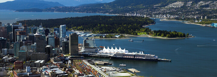 Vancouver Luftaufnahme