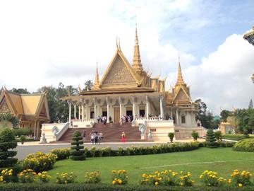 Kambodscha Reisebericht : Königspalast in Phnom Penh