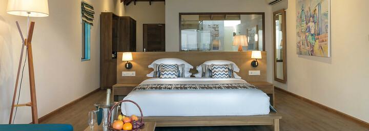 Reethi Faru Resort Beispiel Water Villa