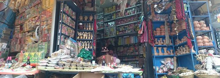 Hexenmarkt in La Paz, Bolivien