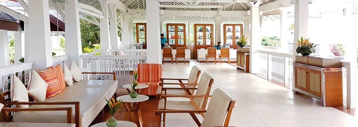 Lobby des Centara Villas Samui